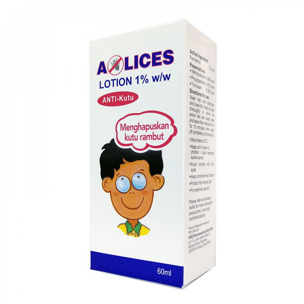 Alices Lotion Anti Kutu 60ML-Ready Stock
