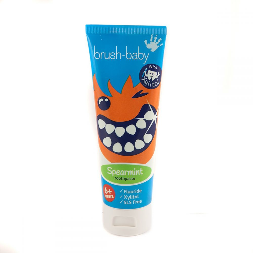 Brush-Baby Childrens Mild Spearmint Toothpaste-Ready Stock