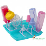 Foldable Bottle Drying Rack Travel Friendly Fiffy-Ready Stock