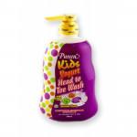 Pureen Kids Yogurt Bubble Gum Head To Toe Wash 750ML-Ready Stock