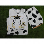 Unisex Baby Cute Singlet( cow)-Ready Stock