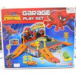 SPIDERMAN GARAGE PLAYSET -