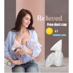 Silicon Manual Breast Pump Breast Milk Collector Hakka [Free Cap]-Ready Stock