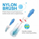 Puku Baby Bottle Nylon Brush-Ready Stock