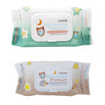 K-MOM Natural Pureness Premium Baby Wet Wipes-Ready Stock