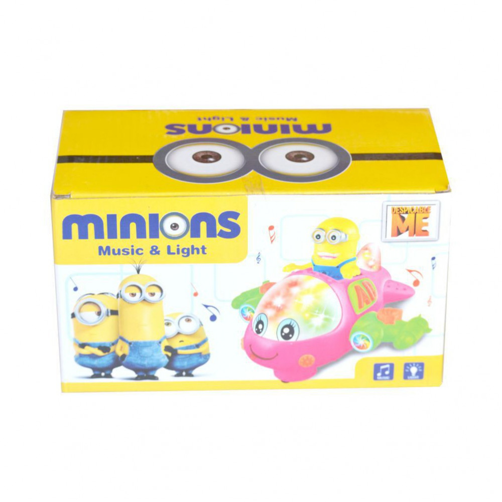 Minions Music & Light Toys For Kids-Ready Stock