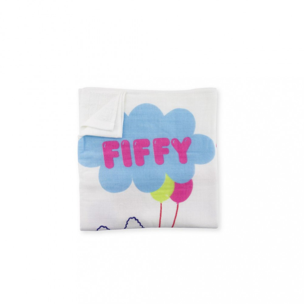 Fiffy Baby Bath Towel-Ready Stock