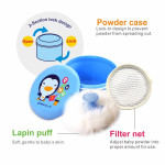 Puku Powder Puff With Case-Ready Stock