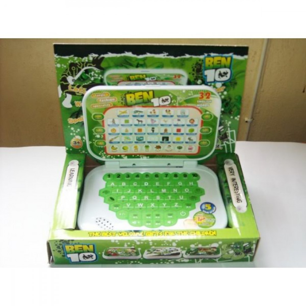 Boy Kid Games Ben 10 Educational Laptop-Ready Stock