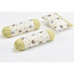 Baby Love 1 Pillowcase 2 Bolster Set -Ready Stock