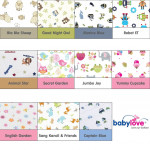 Babylove 3'S P&B Extra Cover Set-Ready Stock