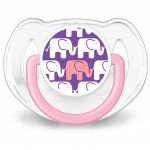 Avent Soother Elephant Design (6-18 Month) Twin Pack-Ready Stock