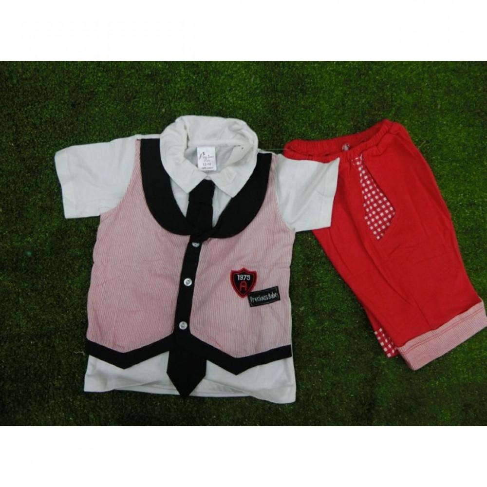 223-0091 Baby Boy School Look Set