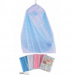 BabyLove - Cradle Mosquito Net (779 E) with Zip *Embroidered*