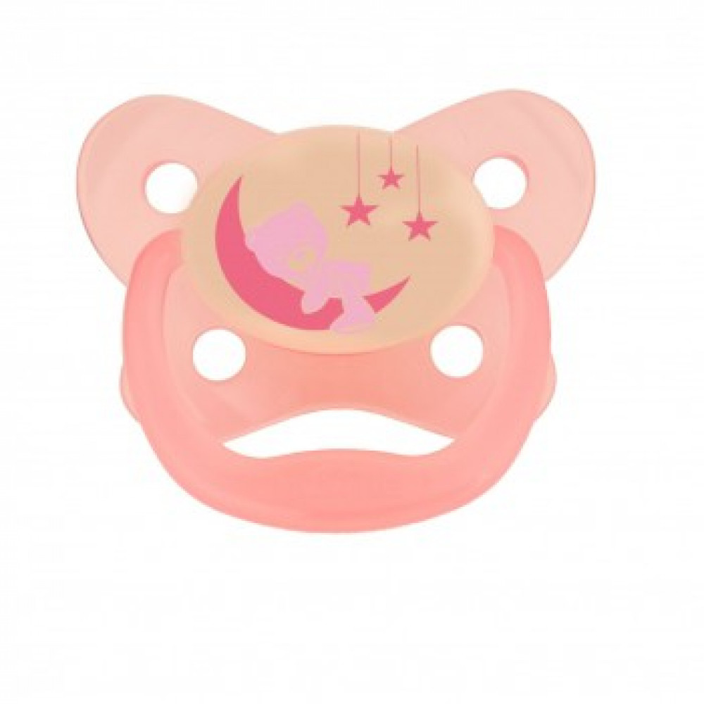 Dr Brown's Soother Glow In The Dark ( 12M ) -1Pack-Ready Stock
