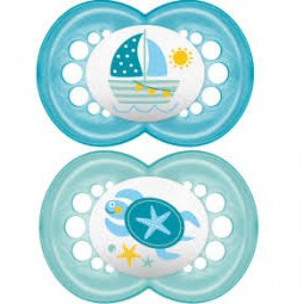 MAM Original Baby Pacifier (6+ Months) - Twin-Ready Stock