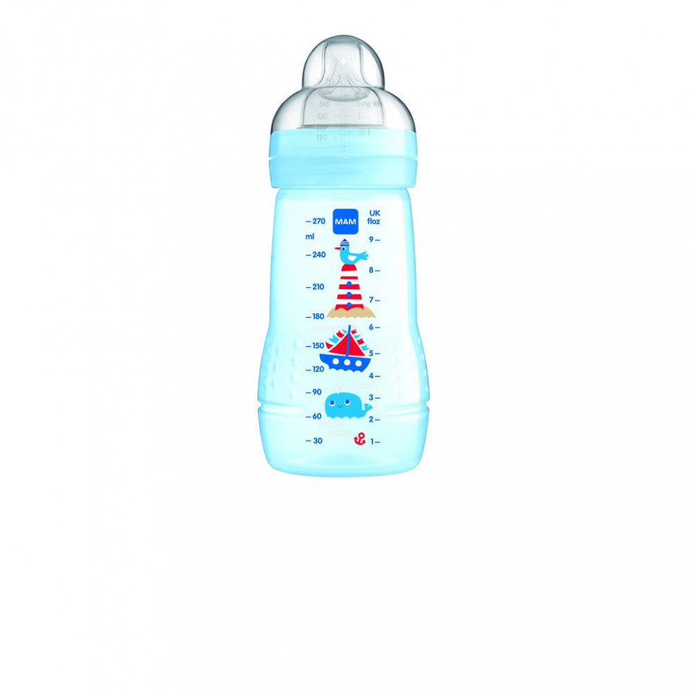 MAM Easy Active Baby Feeding Bottle 270ml-Ready Stock