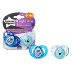 Tommee Tippee Closer to Nature Night Time Soothers 6-18m 2pek