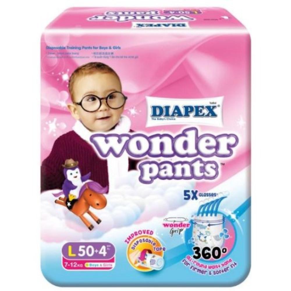 Diapex Wonder Pants Super Jumbo( M60, L50, XL40, XXL32 )-Ready Stock