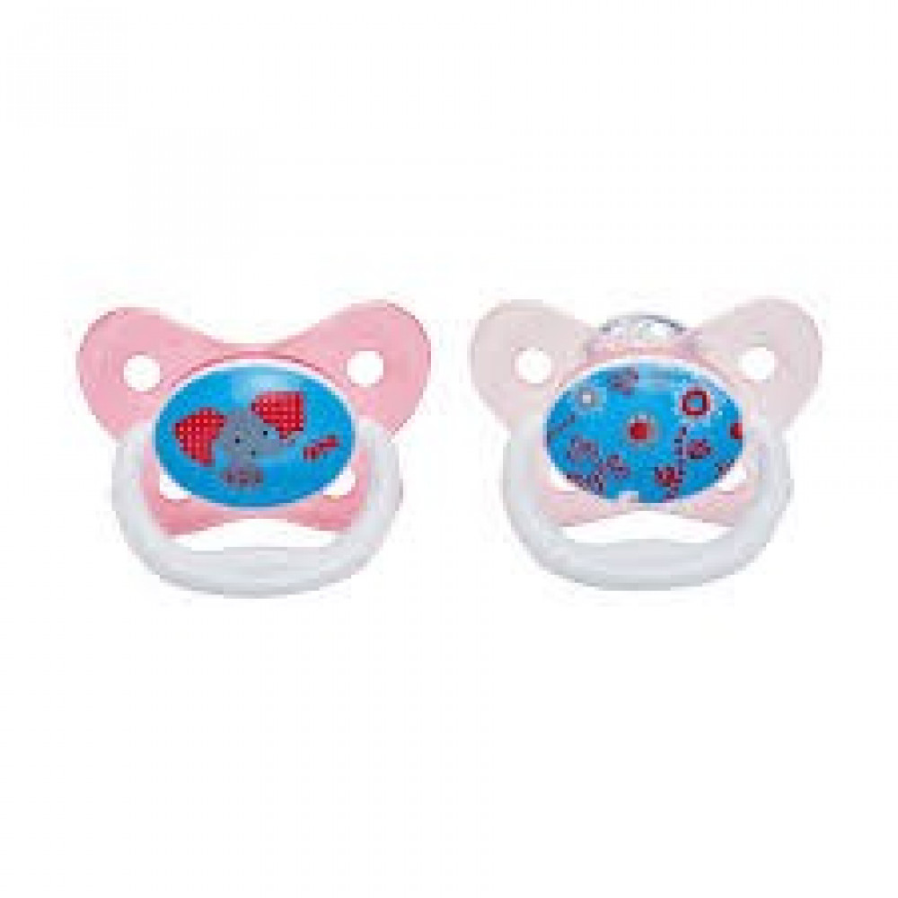 Dr Brown's - Prevent Butterfly Shield Stage 2 Pacifier - (2 PCS) *6-12M*-Ready Stock