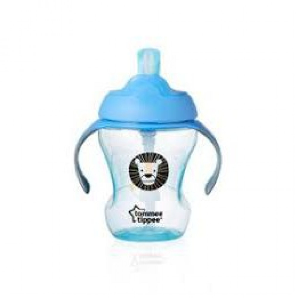 Tommee Tippee Easy Drink Straw Cup 230ML((9M+) Green)-Ready Stock