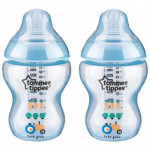Tommee Tippee - Closer To Nature 9oz PP Tinted Bottle (Twin) -Ready Stock