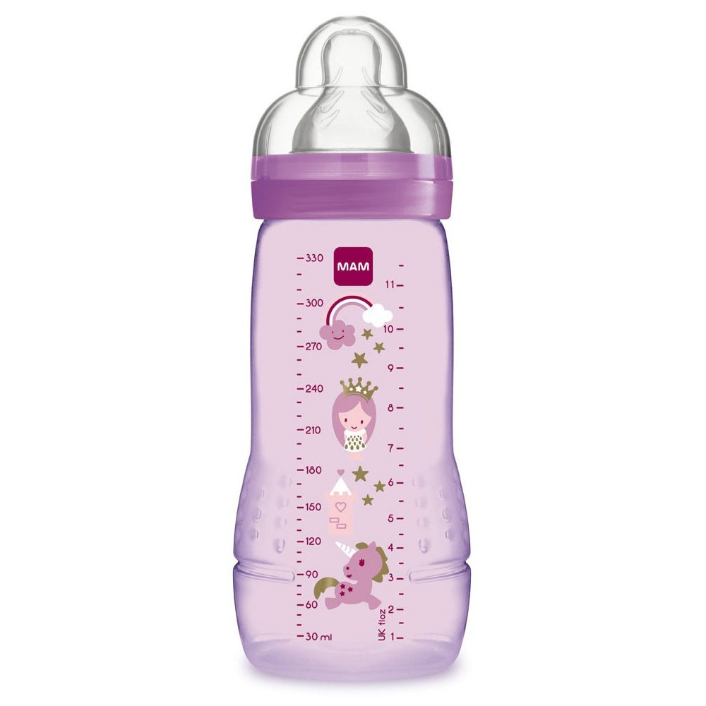 MAM Easy Start Baby Feeding Bottle 330ml-Ready Stock