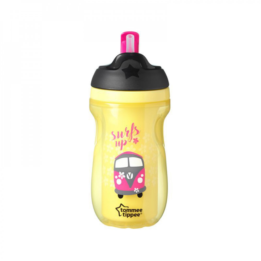 tommee tippee Active Straw Cup 12m+ 260ml/9oz -Ready Stock
