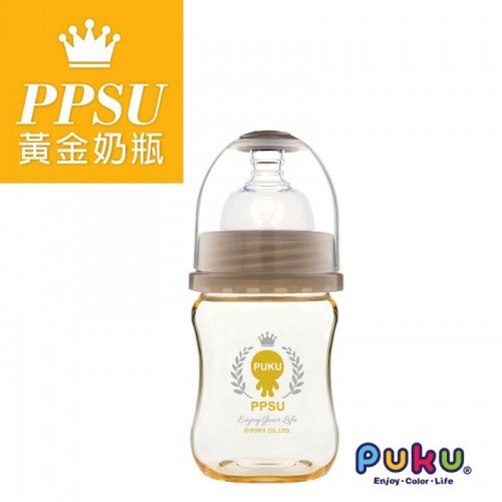 Puku PPSU Wide Neck Feeding Bottle140ML-Ready Stock