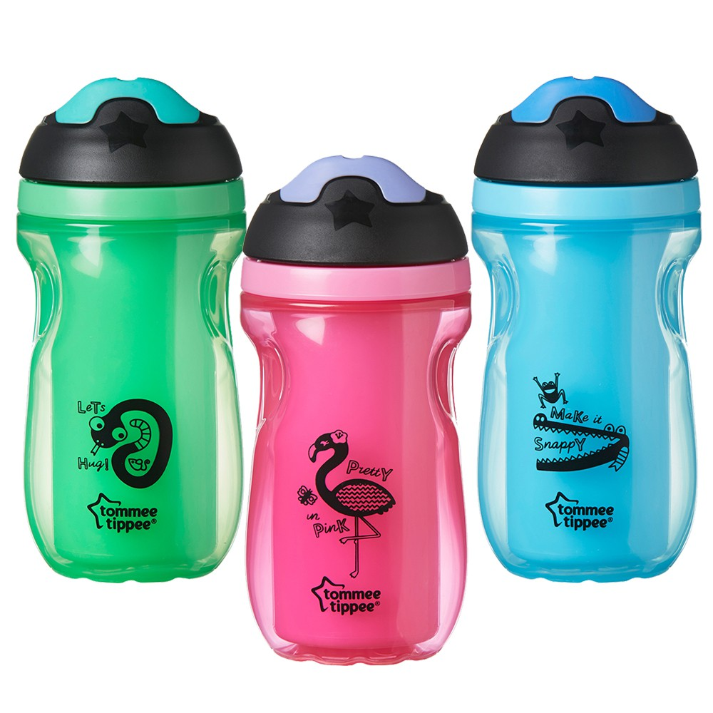 Tommee Tippee Insulated Active Sippee Cup 12M+-Ready Stock