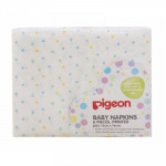 Pigeon Baby Napkins 6Pieces ,Printed ( Size : 76cm x 76cm ) Ready Stock