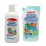 Pigeon Liquid Cleanser 700ML Pump & 650ML Refill 2IN1-Ready Stock