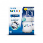 Avent Classic Plus Bottle 4oz / 125ml Twin Pack-Ready Stock