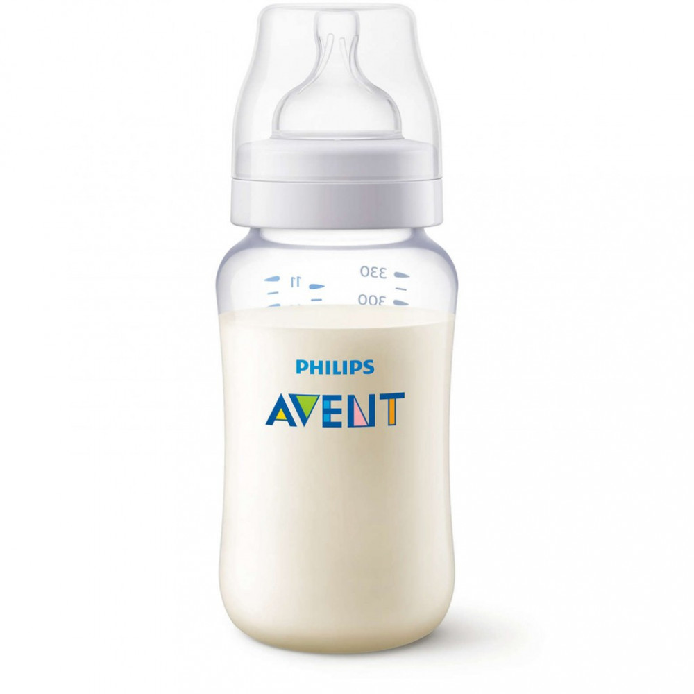 Avent PA Clear Bottle 11oz / 330ml Single Pack-Ready Stock