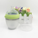 Cutebaby Extra Wide Mouth Silicone Bottle Newbrn 150ML-Ready Stock