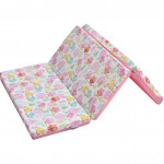 Babylove 3-Fold Playpen Foam Mattress Cover-Ready Stock