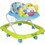 Cute Cowtoon Baby Walker English Version-Ready Stock