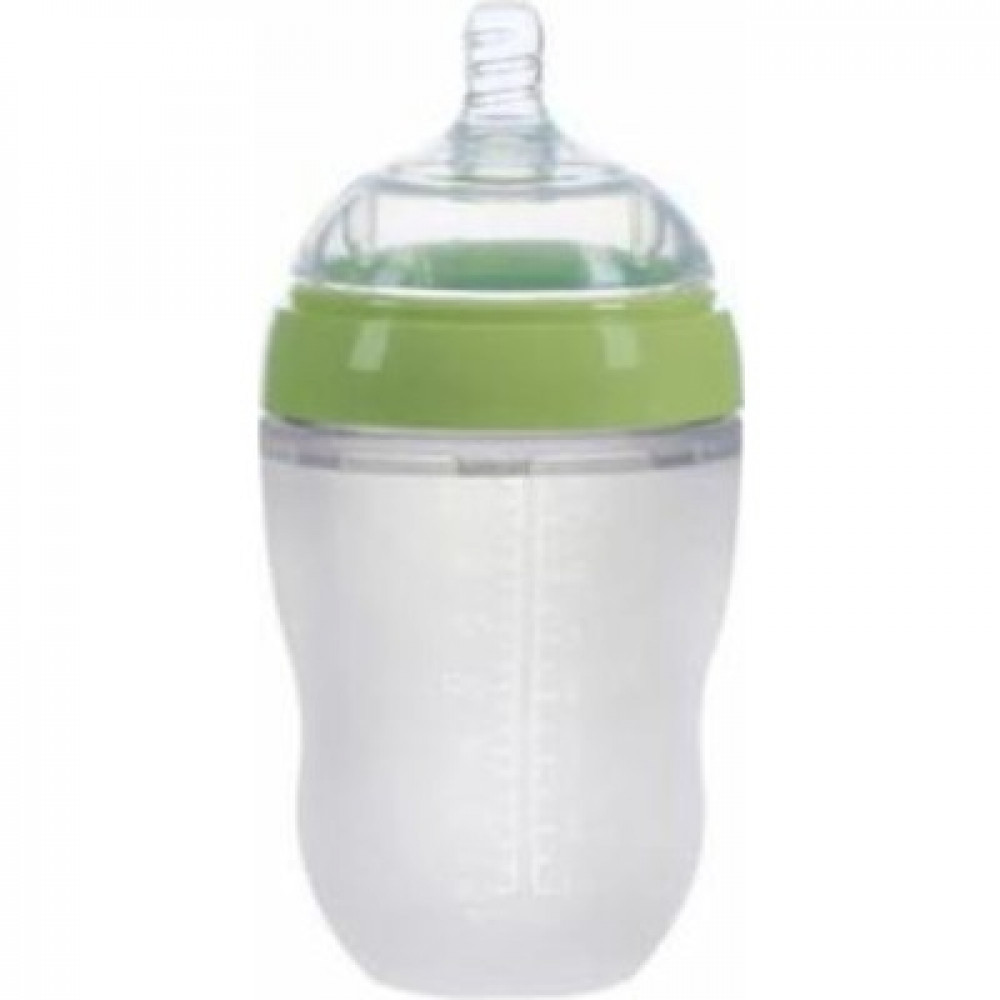 Cutebaby Extra Wide Neck Mouth Silicone Bottle 250ML-Ready Stock