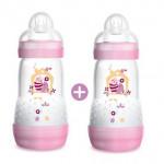 MAM Easy Start Anti-Colic Bottle 260ml - Double Pack-Ready Stock