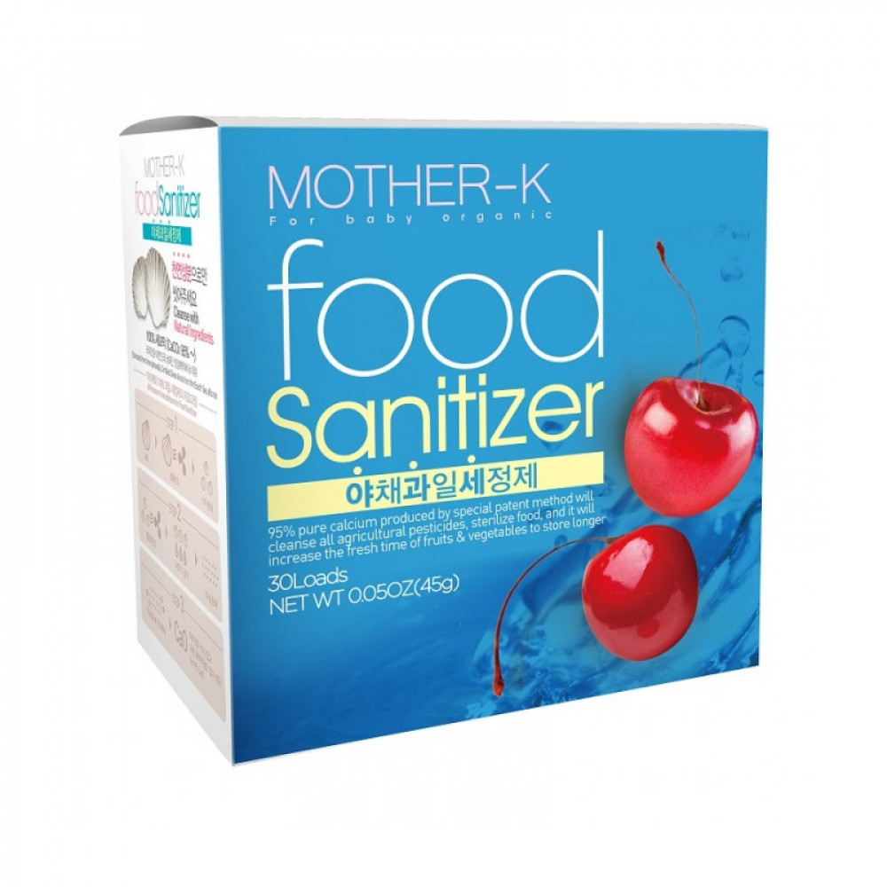 Mother K Food Sanitizer (30 Pack)-Ready Stock