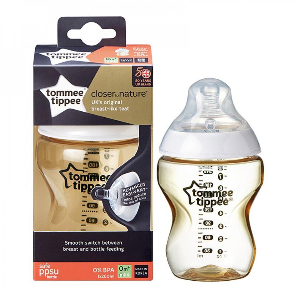 Tommee Tippee Tommy Star Bottle Anti-Flatulence Bottle PPSU Bottle 260ML