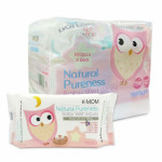 K-Mom Organic Basic Wipes (100s x 6)-Ready Stock