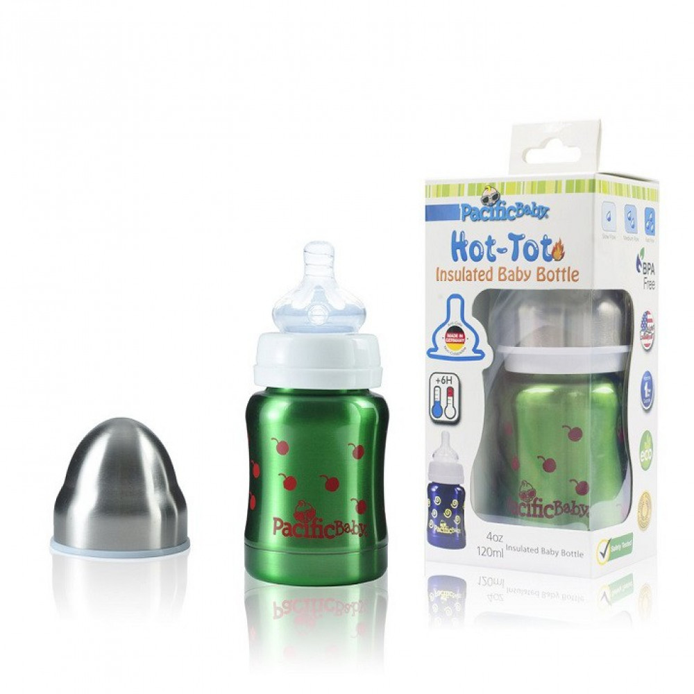 Pacific Baby - Hot-Tot Insulated Baby Bottle 4oz/120ml