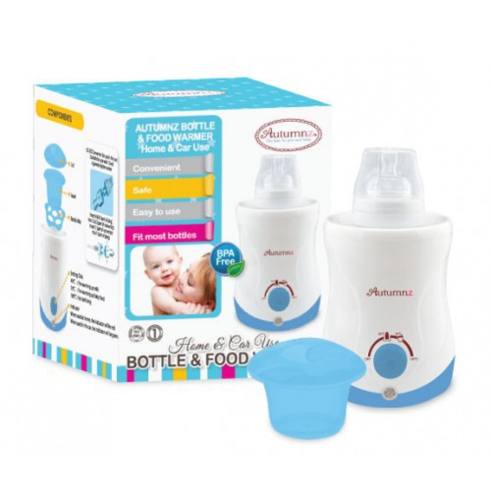 Autumnz Bottle And Food Warmer Home & Car Use-Ready Stock