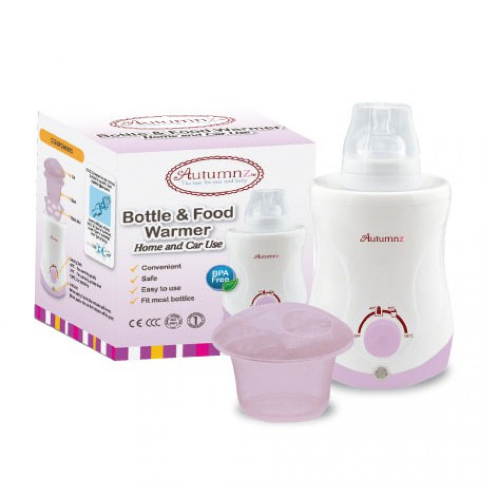 Autumnz Bottle & Food Warmer (Home & Car Use)