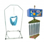 Polo Electronic Baby Cradle + Baby Spring Cot + Free Baby Cradle Net -Ready Stock