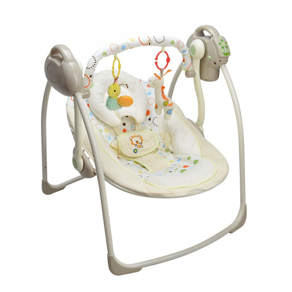 Kids Bright Multifunction Rocking Electric Portable Swing-Ready Stock