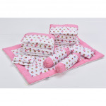 Babylove 9 In 1 Baby Cot Package-Ready Stock