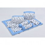 Babylove 9 In 1 Baby Cot Package - White Color-Ready Stock