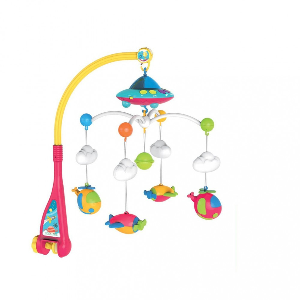 Babylove Little Pilot Musical Mobile + Ceiling Projector-Ready Stock